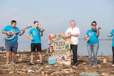 Música al rescate de las aguas, de la mano de la Orquesta H2O