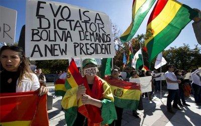 La Unión Europea pide contención en Bolivia para que haya elecciones pacíficas