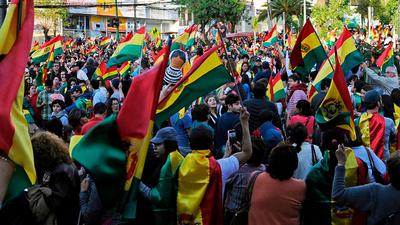 "Hugo Richer: ""Ojalá Bolivia no llegué a una guerra civil"""