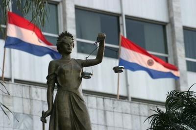 Inicia huelga de Funcionarios de Fiscalía, Poder Judicial y Defensoría