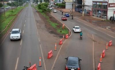 Megaviaducto Km7: Caos y confusiones en operativos de desvío