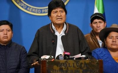"""Renunció Evo Morales: """"mi pecado es ser dirigente sindical, ser indígena»"""