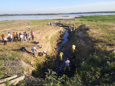 Costanera: buscan retirar 30 mil kilos de basura en nueva jornada de limpieza