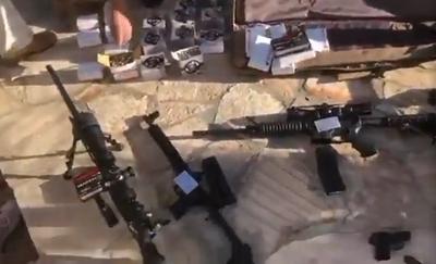 Incautan armas de grueso calibre tras allanamiento en Caacupé
