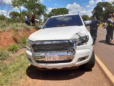 San Pedro: Vehículo de comitiva presidencial atropelló y mató a comunicador