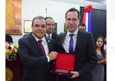 Junta Departamental reconoce labor de magistrado
