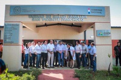 Gobierno inaugura Unidades de Salud Familiar en San Pedro