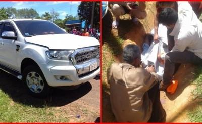 Periodista muere arrollado por vehículo de comitiva presidencial