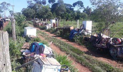 Desalojan a varias familias de un inmueble en Tavapy