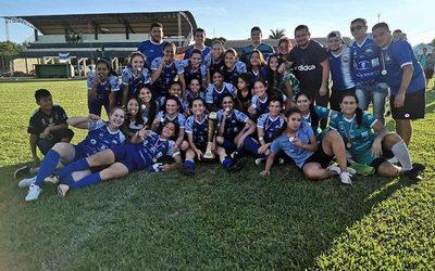 Santarriteña es campeón del Interligas femenino