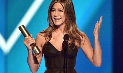El emotivo discurso de Jennifer Aniston por su trayectoria durante los People's Choice Awards