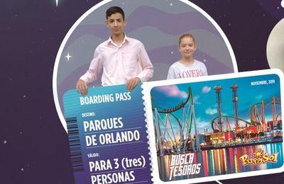"Puro Sol: Ganador de ""Buscatesoros"" irá a Orlando junto con dos acompañantes"