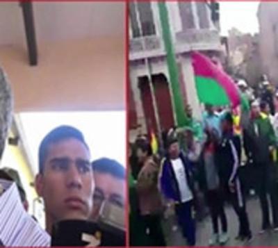 Abdo rompió el silencio ante la situación que se vive en Bolivia