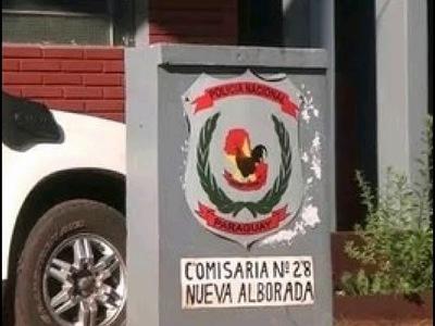 HURTAN INSTRUMENTOS MUSICALES DE UNA IGLESIA EN NVA. ALBORADA
