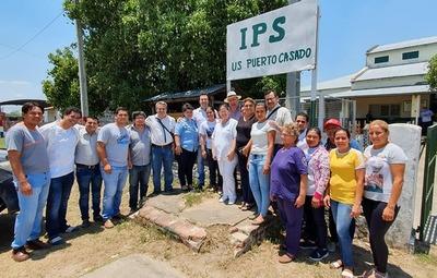 Alto Paraguay: IPS invertirá cerca de 15 mil millones en refacción de hospitales