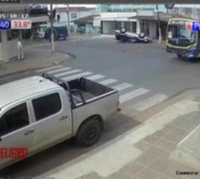 Accidente de tránsito en San Lorenzo
