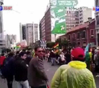 Grave crisis en Bolivia