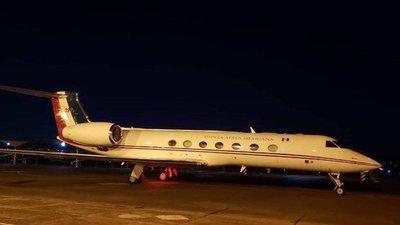 Avión que transportaba a Evo Morales a nuestro país despegó hacia México