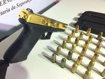 Hallan armas y municiones en vivienda en Lambaré