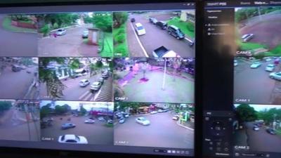 Instalan cámaras de vigilancia para combatir inseguridad en Pdte. Franco