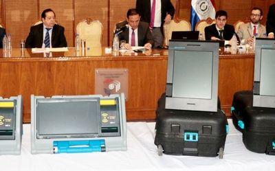 """Desde el TSJE aseguran que internas partidarias serán """"imposibles"""" sin urnas electrónicas"""