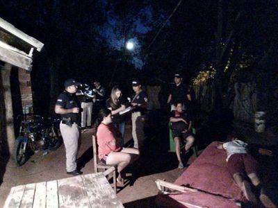 Cuatro detenidos tras allanamientos en Caacupé