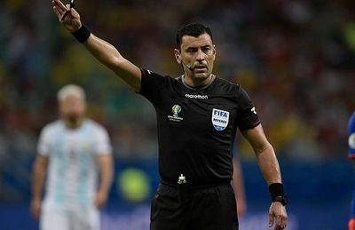 Tobar, el árbitro de la final
