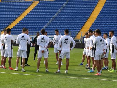 Se sumaron cuatro futbolistas a la selección paraguaya