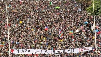 Huelga general en Chile: más de 100 organizaciones apoyan la medida en la cuarta semana de protestas