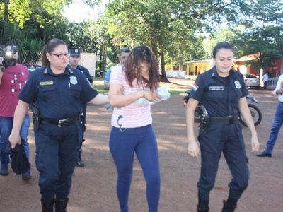Mujer que se fugó de comisaría se volvió a entregar en Alto Paraná