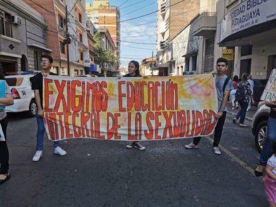 MEC: jóvenes exigen cumplimiento de derechos sexuales y reproductivos