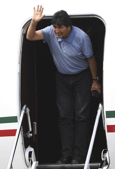 Evo Morales, asilado político en México