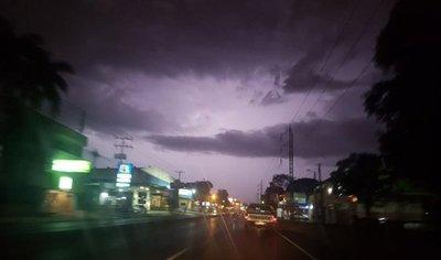 Meteorología anuncia tormentas para esta madrugada