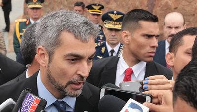 Mario Abdo no considera un golpe de Estado la salida de Evo Morales