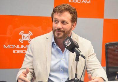 Alejandro Domínguez, presidente de la Conmebol, en FALG