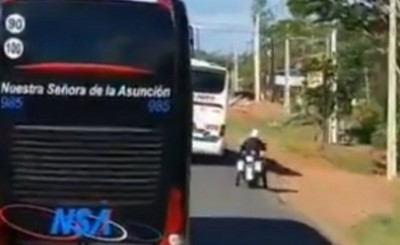 DINATRAN sanciona a empresa de transporte y despiden a conductor