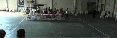 Funcionarios toman Municipalidad de Lambaré