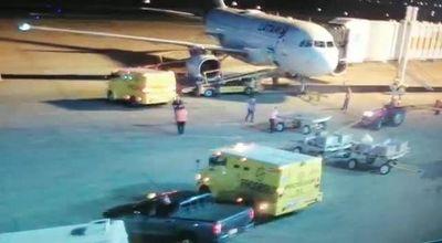 DINAC niega que se halla cargado dinero al avión de Evo durante escala en Paraguay
