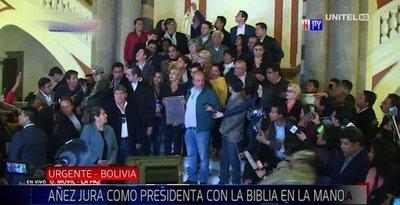 Jeanine Áñez nueva presidenta provisional de Bolivia