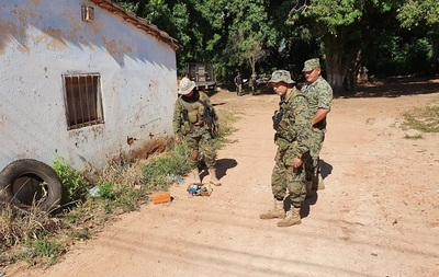 Amedrentan con bomba casera a sojeros de Loreto