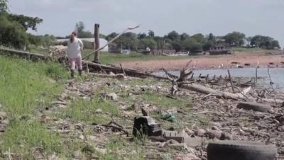 HOY / Ribera del río en Itá Enramada está convertida en un basural