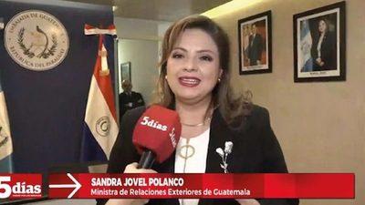 Guatemala habilita su embajada en Paraguay