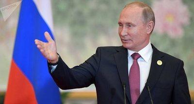 Putin arriba a Brasil para participar en la cumbre de los BRICS