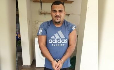 Presunto líder del Comando Vermelho es detenido en Pdte. Franco