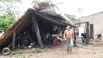 HOY / Ñeembucú: tormenta deja a su paso daños y damnificados en localidad de Cerrito