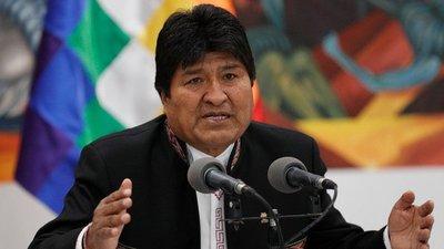 Evo pidió a la ONU, al Papa y a los países amigos de Europa mediar en Bolivia