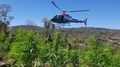 Operación contra el Narcotráfico en la frontera entre Brasil y Paraguay