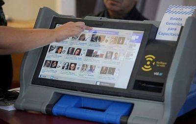 Voto Electrónico: Contrataciones Públicas dará a conocer hoy dictamen sobre alquiler de máquinas de votación