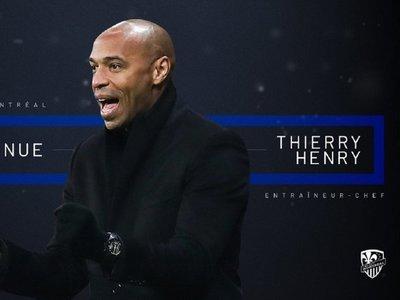 Thierry Henry es el nuevo entrenador del Impact de Montreal