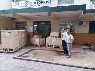 Entregan mamógrafo al hospital regional de Pilar